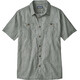 Patagonia Back Step Shirt Men Batik Hex Micro: Hex Grey